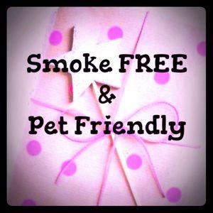 Other - Smoke Free & Pet Friendly Items
